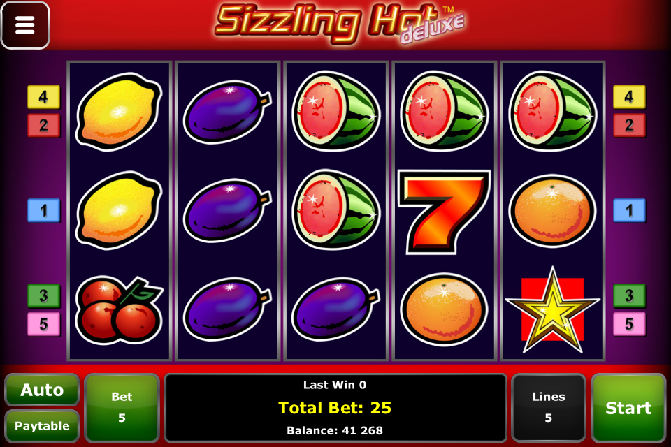 sizzling hot deluxe app cheat