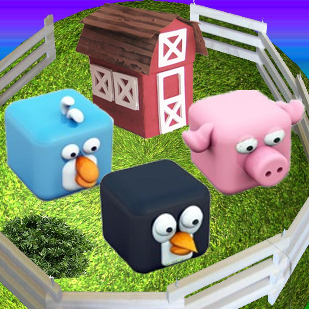 Acres Farm Crush Club: Rescue 3D Mammals In Match 3 Puzzle Game